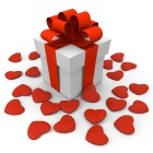 Обои valentines day gift box