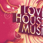 Обои love house music