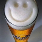 Обои happy beer