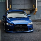 Фото обои mitsubishi evolution