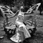 Обои butterfly bride( for cherie)