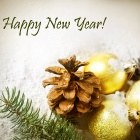Обои happy new year