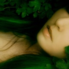 Обои green-eyed dryad