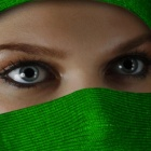 �������� beauty behind the green veil