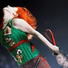 Обои hayley, williams, музыка, paramore, на, сцене