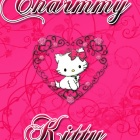 Обои картинка chammy kitty fashion pink
