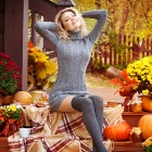Обои joy of autumn