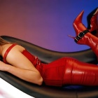 Фото red leather