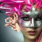 Заставки pink masked lady