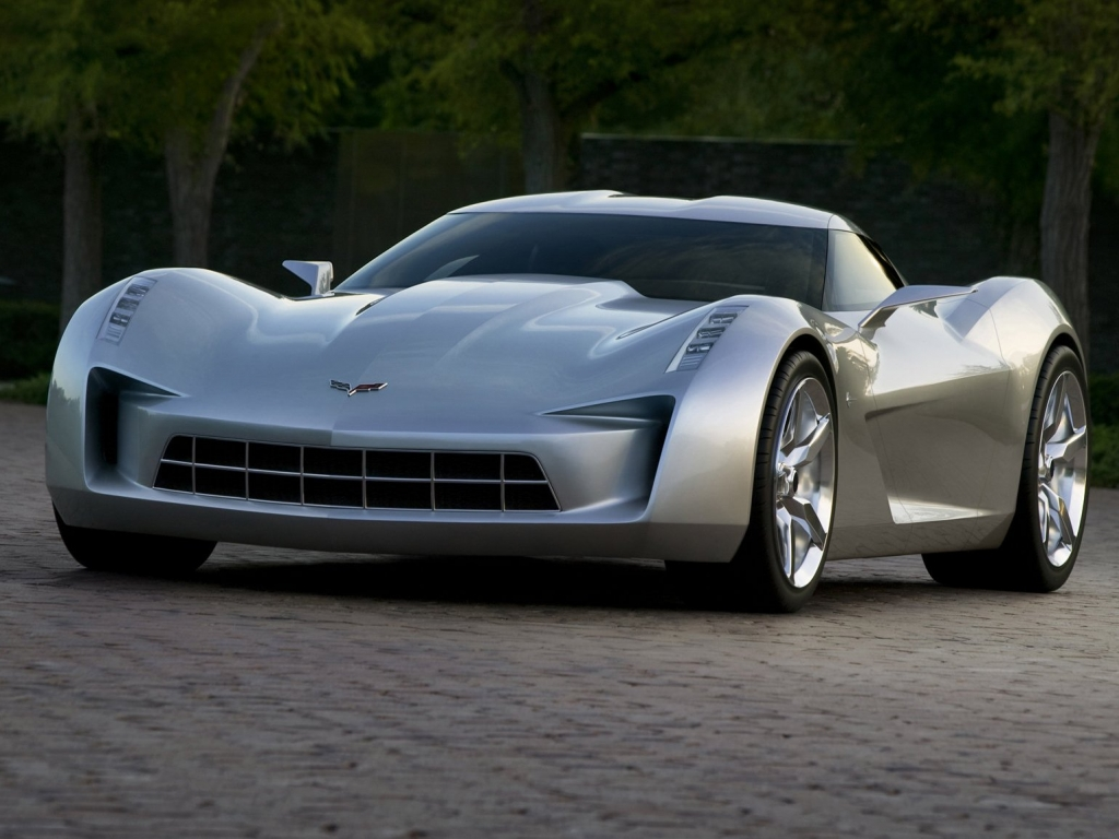 Chevrolet Stingray Concept 2010 в разрешении 1024x768 для iPad 2