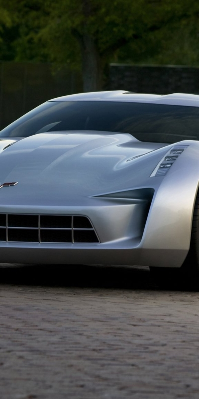 Chevrolet Stingray Concept 2010 в разрешении 400x800